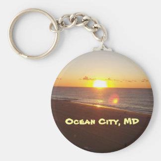 Porte-clés Sun se levant sur le porte - clé de l'Océan