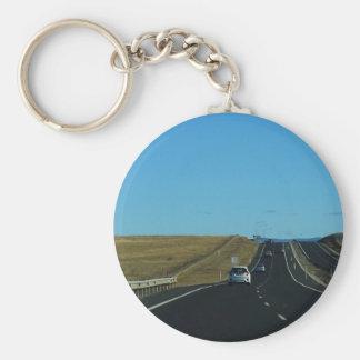 Porte-clés Sur la route
