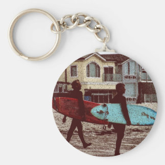 Porte-clés Surfers de vieille école