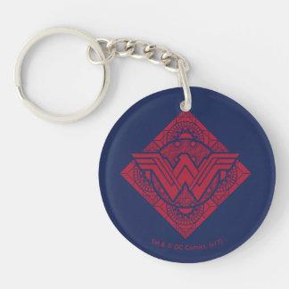 Porte-clés Symbole amazonien de femme de merveille