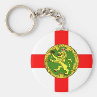 Porte-clés Symbole les anglais de Guernesey de drapeau