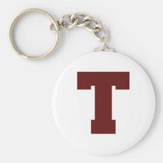 Porte-clés T initial