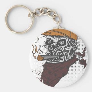 Porte-clés Tabagisme de crâne