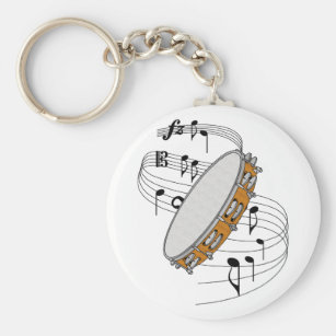 Porte-clés Tambour de basque