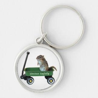 Porte-clés Tamia dans le chariot