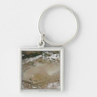 Porte-clés Tempête de poussière dans le désert de Taklimakan,