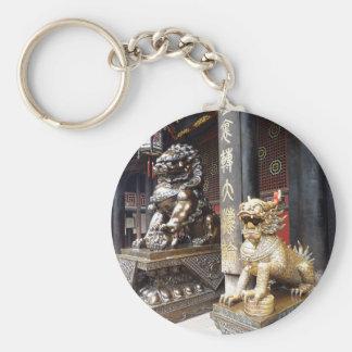 Porte-clés Temple chinois