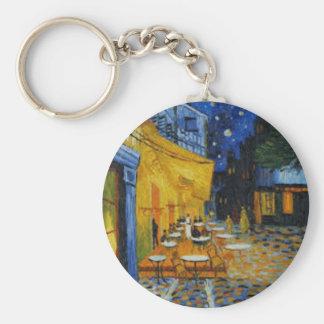 Porte-clés Terrasse de Café le nuit de Vincent Van Gogh