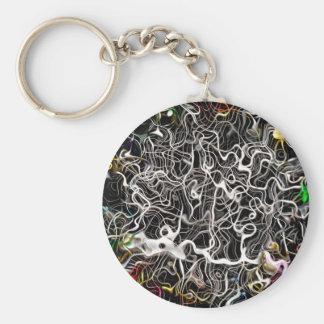 Porte-clés Texture abstraite de contexte de motif
