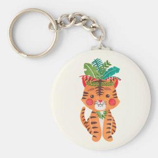 Porte-clés Thomas le petit tigre