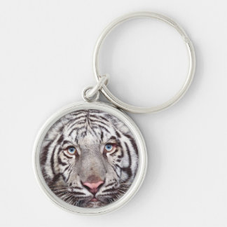 Porte-clés Tigre de Bengale blanc