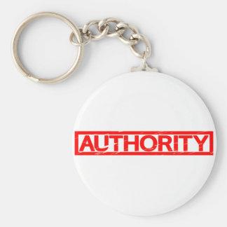 Porte-clés Timbre d'autorité