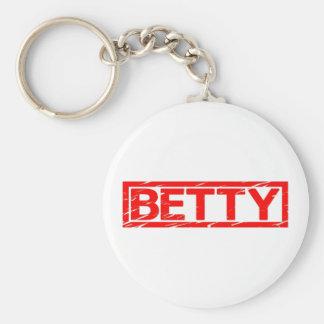 Porte-clés Timbre de Betty