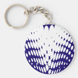 Porte-clés Torsion bleue