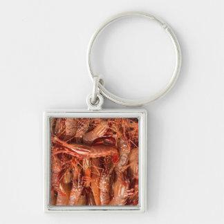 Porte-clés Toute la crevette rose et aucun cerveau