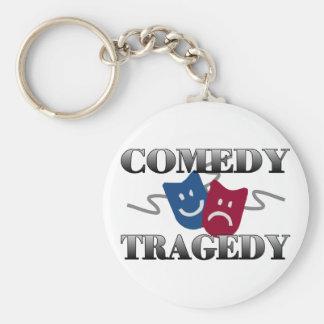 Porte-clés Tragédie de comédie