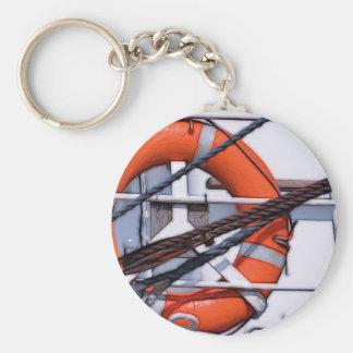 Porte-clés Transformation numérique de peinture de Lifebuoy
