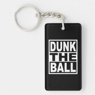 Porte-clés Trempez la boule