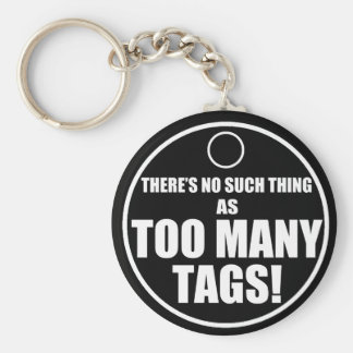Porte-clés Trop d'étiquettes ?