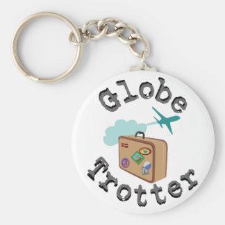 Porte-clés Trotteur de globe