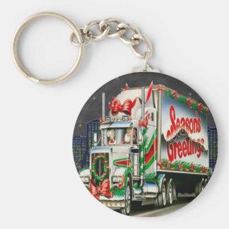Porte-clés Truckin Père Noël - porte - clé
