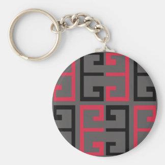 Porte-clés Tuile colorée par obscurité