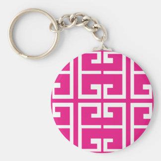 Porte-clés Tuile rose de Bubblegum