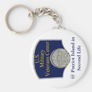 Porte-clés U.S. Porte - clé central de vétérans militaires