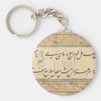 Porte-clés Un album de la calligraphie Mir Ali Tabrizi de