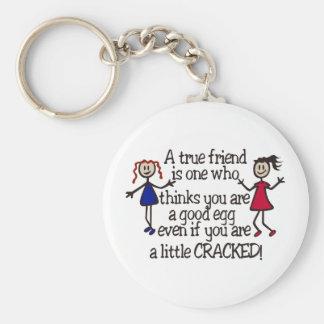 Porte-clés Un ami vrai
