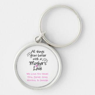 Porte-clés Un porte - clé personnalisé de l'amour de mère