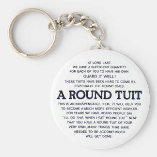 Porte-clés Un Tuit rond