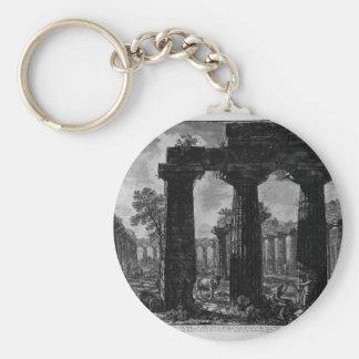 Porte-clés Une autre vue de la façade des pronaos Giovanni