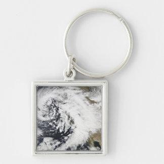 Porte-clés Une série de tempêtes fortes avec les vents