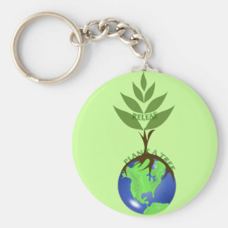 Porte-clés Usine de ReLeaf un arbre