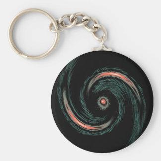 Porte-clés vague en spirale