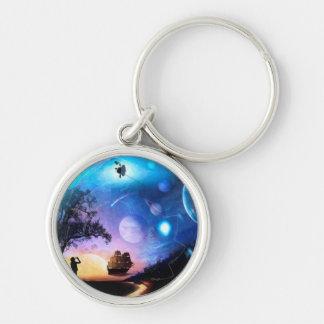 Porte-clés Vaisseau spatial de Voyager d'illustration