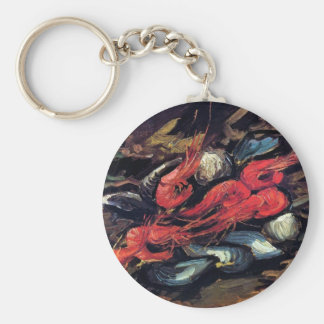 Porte-clés Van Gogh - la vie toujours avec les moules et la