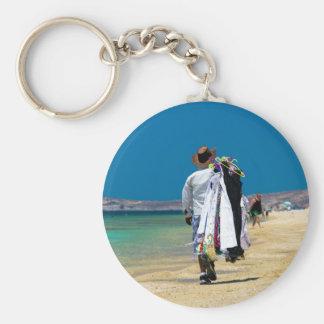 Porte-clés Vendeur sur la plage