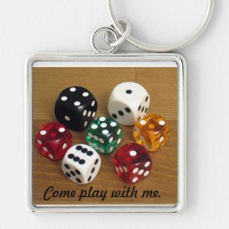 Porte-clés Venez le jeu avec moi porte - clé de matrices de