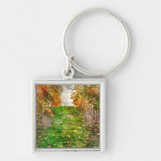 Porte-clés Vignoble dans Napa Valley pendant l'automne
