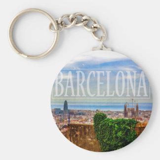 Porte-clés Ville de Barcelone