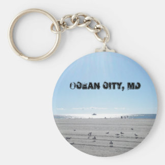 Porte-clés Ville d'océan, porte - clé du Maryland