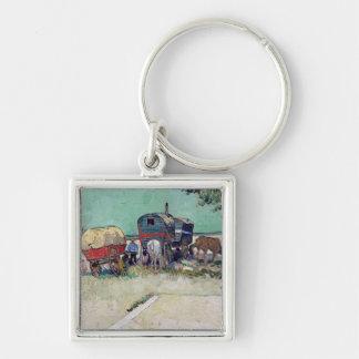 Porte-clés Vincent van Gogh   les caravanes, campement gitan
