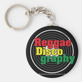 Porte-clés Vinyle de discographie de reggae