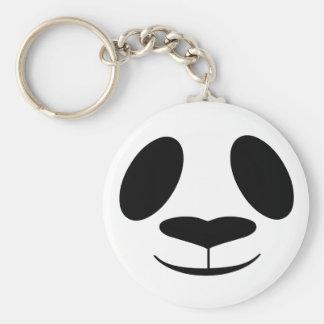 Porte-clés Visage de panda