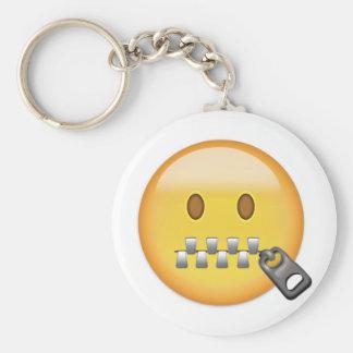Porte-clés Visage Emoji de Tirette-Bouche