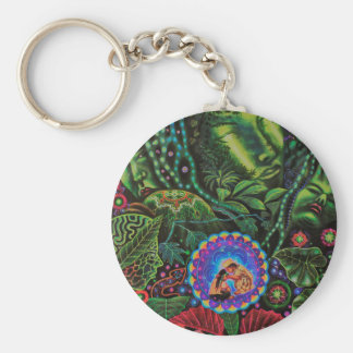 Porte-clés Vision d'Ayahuasca