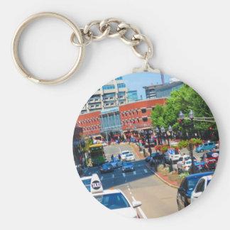 Porte-clés Visite d'autobus des Etats-Unis Amérique de ville