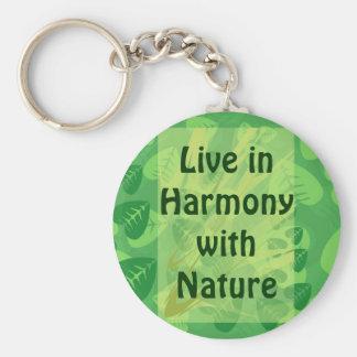 Porte-clés vivez dans l'harmonie avec le porte - clé de